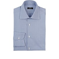 Fairfax Men's Micro Houndstooth Shirt Blue