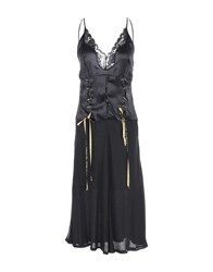 John Richmond Knee Length Dresses Black