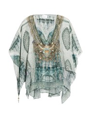 Camilla Wings Of The City Layered Blouse