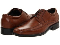 Dockers Endow Bike Toe Oxford Tan Burnished Leather Shoes