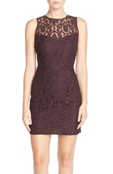Women's Bb Dakota 'Gabby' Lace Sheath Dress