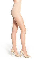 Women's Item M6 'Invisible' Pantyhose Powder