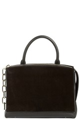 Alexander Wang 'Attica' Pebbled Leather And Suede Crossbody Bag