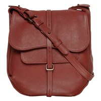 Radley Medium Grosvenor Leather Across Body Bag Burgundy