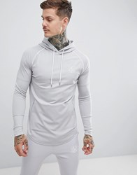 Sik Silk Siksilk Overhead Hoodie In Grey