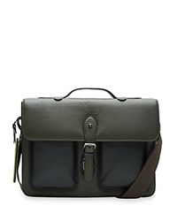 Ted Baker Leather Document Bag Green