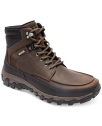 Rockport Men's Cold Springs Plus Moc Waterproof Boots Only At Macy's Men's Shoes Brown