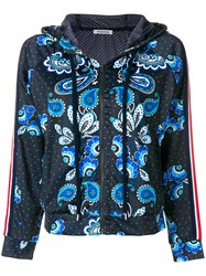 P.A.R.O.S.H. Dotted Paisley Track Jacket Blue