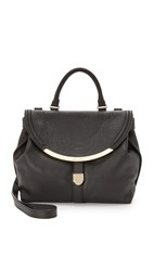 See By Chloe Lizzy Satchel Black