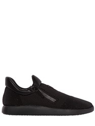 Giuseppe Zanotti Micro Studded Suede Running Sneakers