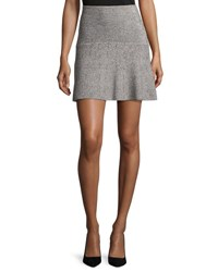 Theory Gida Km Prosecco Knit Miniskirt Multicolor