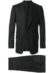 Tom Ford Two Piece Suit Men Silk Cupro Wool 50 Grey