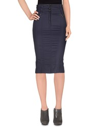 Daniele Alessandrini Skirts 3 4 Length Skirts Women Dark Blue