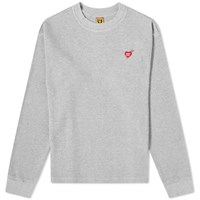 Human Made Long Sleeve Thermal Tee Grey