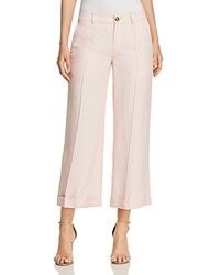Ralph Lauren Cropped Wide Leg Pants 100 Exclusive Pink