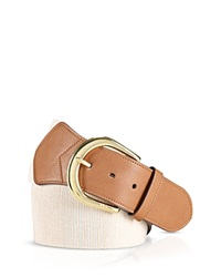 Lauren Ralph Lauren Stretch Wide Belt Natural Lauren Tan