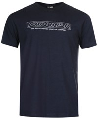 Karrimor Organic Graphic Tee From Eastern Mountain Sports Blue Steel