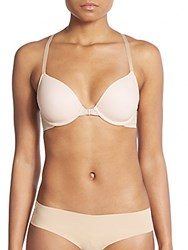 Josie Natori Jetset T Back Front Close Bra Blush