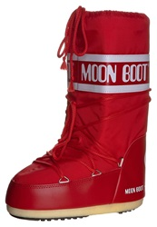 Moon Boot Nylon Winter Boots Rot Red