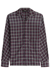 Dsquared2 Checked Cotton Shirt Multicolor