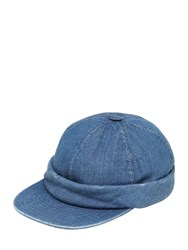 Beton Cire Handmade Washed Denim Sailor Hat