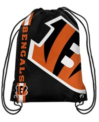 Forever Collectibles Cincinnati Bengals Big Logo Drawstring Bag Black