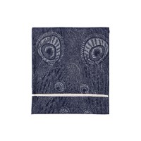 Liberty London Merino Hera Throw Ivan Blue