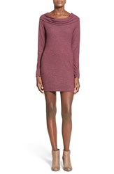 Junior Women's Jella C. Cowl Neck Sweater Dress