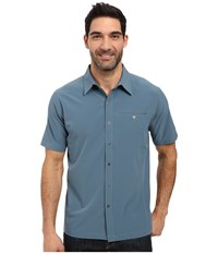 Kuhl Renegade Shirt Shadow Blue Men's Short Sleeve Button Up