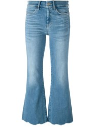 Mih Jeans 'Lou' Flared Jeans Blue