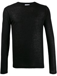 Dondup Slim Fit Knit Sweatshirt Black