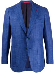 Isaia Long Sleeve Two Button Blazer 60