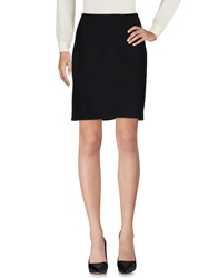Alaia Knee Length Skirts Black