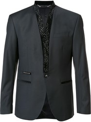 Philipp Plein 'Studdy Man' Blazer Black