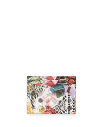 Christian Louboutin Kios Spikes Card Holder Trash Print Multi