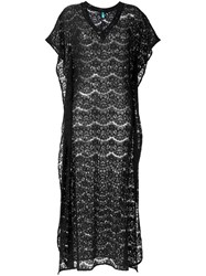 Sub Long Lace Kaftan Black