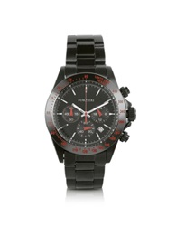 Forzieri Murdock Black Chrono Watch