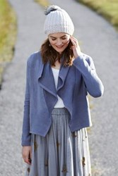 Anthropologie Lea Cropped Cardigan Grey