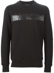Diesel Black Gold Print Sweatshirt