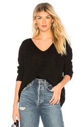 Majorelle V Neck Sweater Black