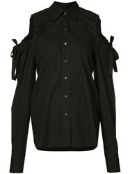 Robert Rodriguez Cut Out Blouse Black
