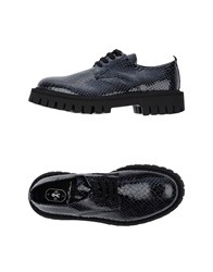 Bruno Bordese Lace Up Shoes Dark Purple