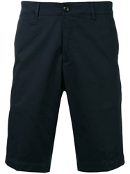 Moncler Tailored Shorts Blue