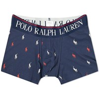Polo Ralph Lauren All Over Boxer Trunk Blue
