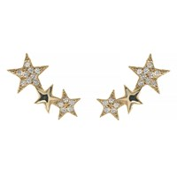 Talia Naomi Wish Upon A Shooting Star Earrings Gold