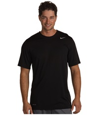 Nike Legend Dri Fit Poly S S Crew Top Black Men's Short Sleeve Pullover
