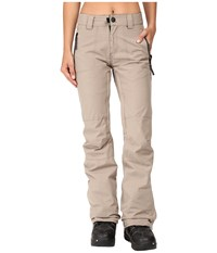 686 Parklan After Dark Pants Khaki Heather Women's Casual Pants Brown