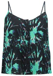 Superdry Top Electric Storm Green
