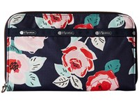 Le Sport Sac Everyday Wallet Navy Rose Wallet Handbags Multi