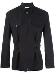J.W.Anderson Cinched Waist Shirt Jacket Black